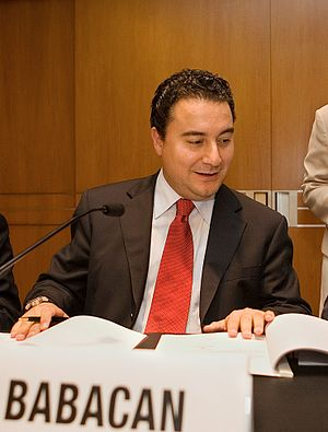 Ali Babacan, Turkey's Minister of Economy
