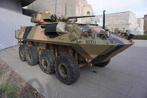 LAV-25 Australian Light Armoured Vehicle 2