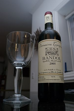 French wine from Bandol
