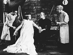 A screenshot from Bride of Frankenstein
