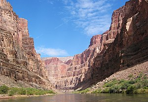 English: A picture of the Marble Canyon sectio...