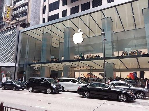 圖 2:Apple Store 香港廣東道分店