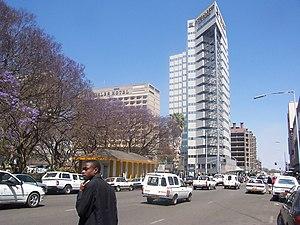 Harare second street, Zimbabwe