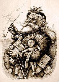 Santa Claus por Thomas Nast
