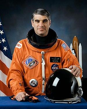 Astronaut Sidney Gutierrez