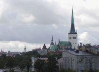 Tallinn church spires