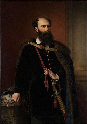 English: Count Lajos Batthyány de Németújvár (...