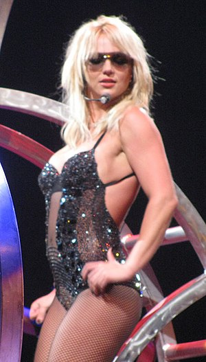 Britney Spears Performing at The O2 Arena in L...