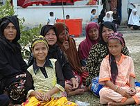 Cham Muslims in Cambodia.