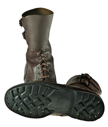 Combat boots used in Polish Army up to the 90'...