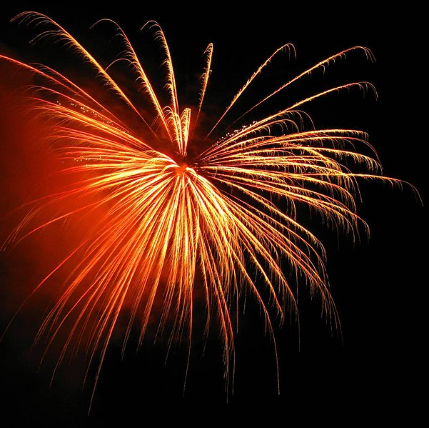File:Fireworks at the celebration of the United States 4th of July.jpg
