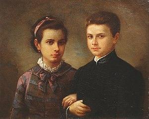 Română: Gheorghe Tattarescu - Copiii pictorulu...