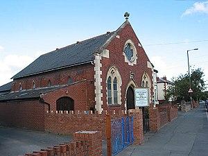 English: Hall of The Christadelphians, Holmer Road