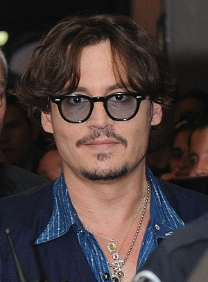 English: Johnny Depp at the Austin Film Festiv...