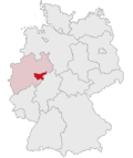 Localização de Hochsauerlandkreis na Alemanha