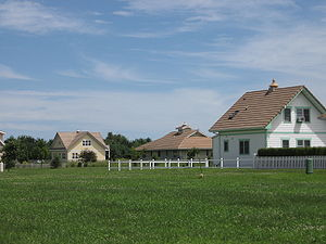 Houses in Maharishi Vedic City, Iowa