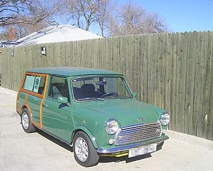 Skip & Elaine Laughlin's 1972 Mini Countryman....