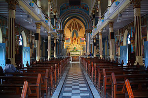 English: Mount Mary Church of Bandra, Very old...