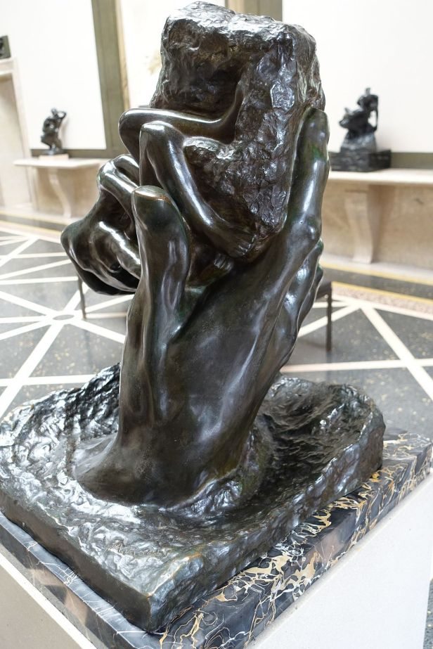 """""""The Hand of God"""" by Auguste Rodin"""