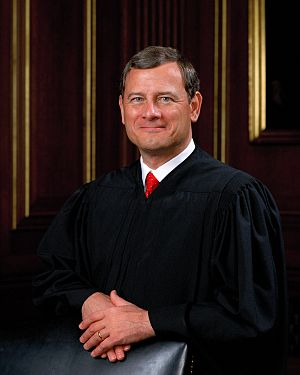 Official 2005 photo of Chief Justice John G. R...