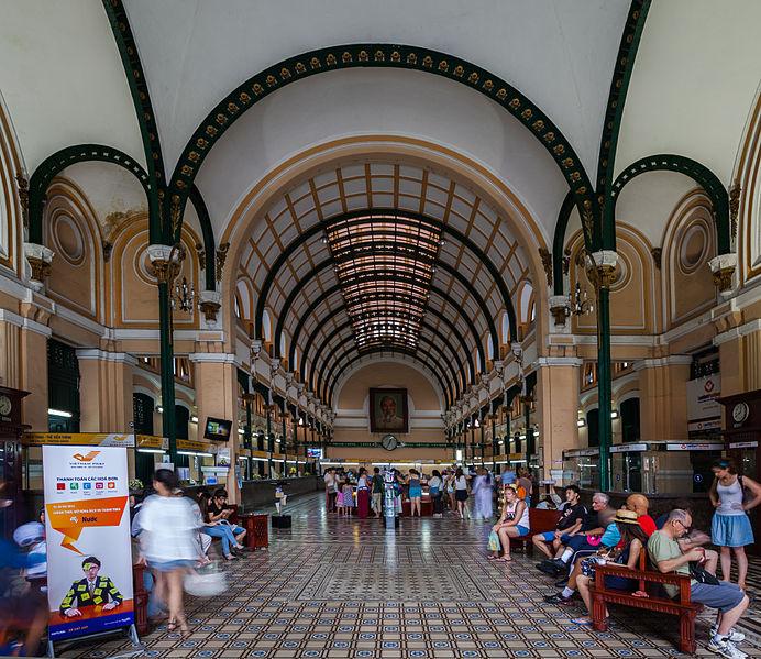 Oficina Central de Correos, Ciudad Ho Chi Minh, Vietnam
