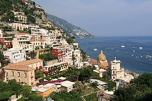 Part of Positano, Italy.