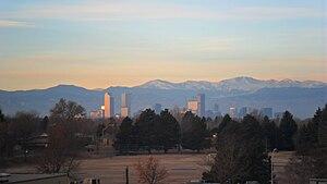 English: Denver Skyline