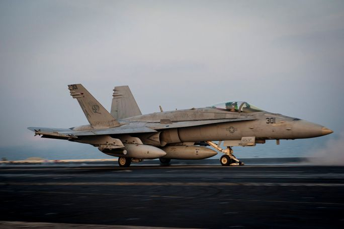 USS Carl Vinson supports Operation Inherent Resolve 150106-N-HD510-037
