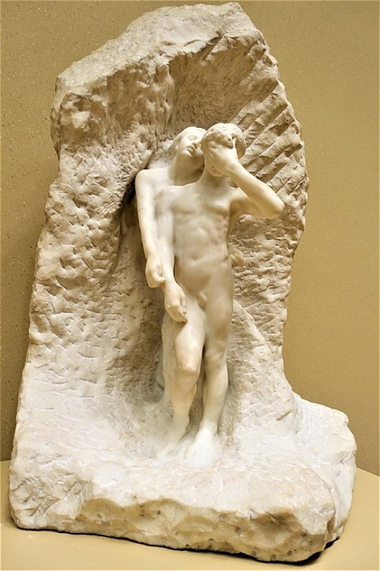 """Orpheus and Eurydice"" by Auguste Rodin"