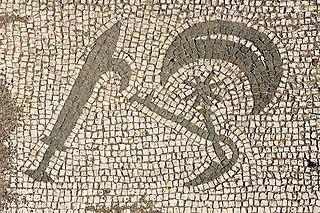 2. Mosaic, Mitreo di Felicissimus, Ostia Antica, Latium