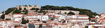 The Castle of São Jorge occupies a commanding ...