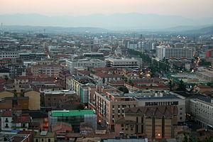 English: Cosenza - panoramic view.
