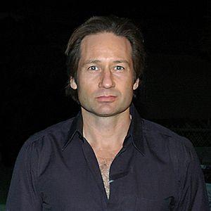 Crooped version of American actor David Duchov...