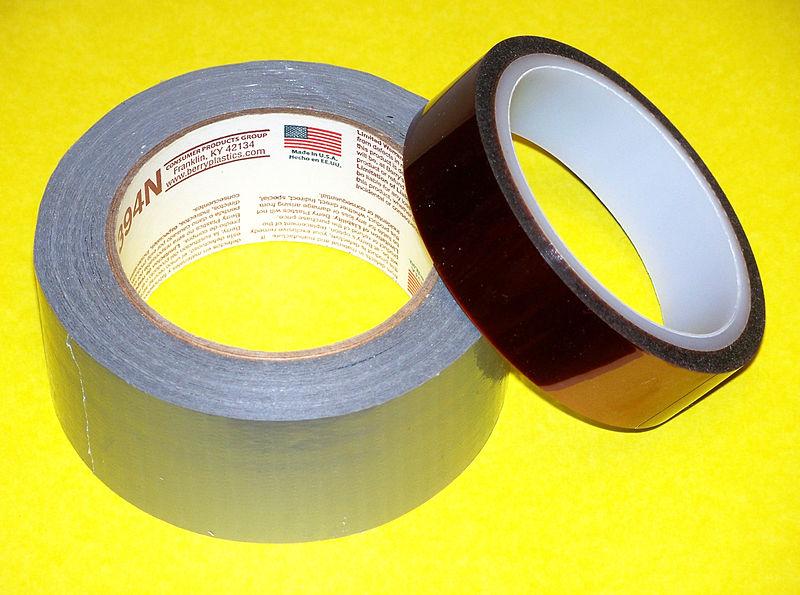 File:Duct Tape and Kapton Tape.jpg