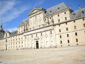 Español: El Escorial Spain Outside Photo in España