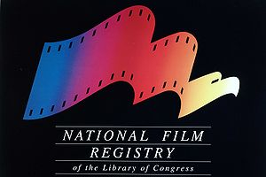 English: four-color National Film Registry Log...