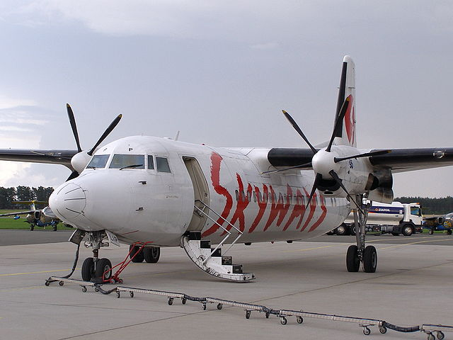 Skyways Express AB canceled all flights today saying it will file for bankruptcy.  Photo: Wikipedia
