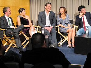 The cast of the US television show How I Met Y...
