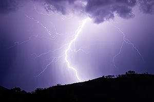 Lightning is a highly visible form of energy t...