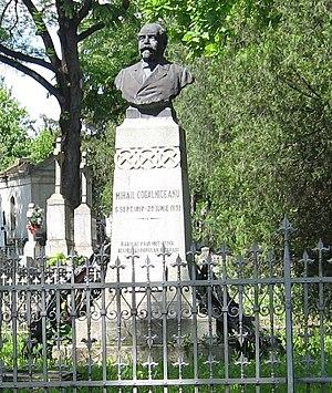 Mihail Kogălniceanu's grave, Iaşi, Romania