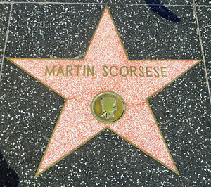 Martin Scorsese's star on the Hollywood Walk o...