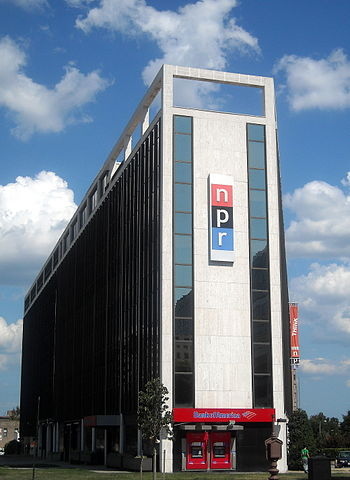 English: National Public Radio headquarters at...