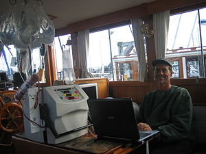This photo shows a hemodialysis treatment in p...