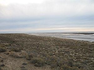 Español: Vista hacia el norte de la playa de P...