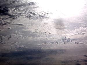 Nuvole nel cielo di Cardedu (Nu)