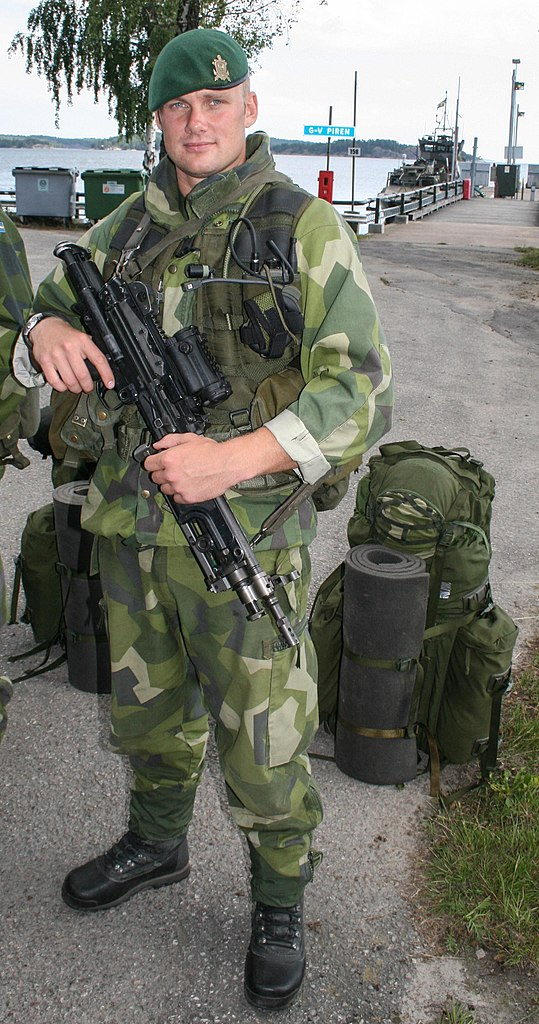 FileSoldier At Berga Navy Base Swedenjpg Wikimedia