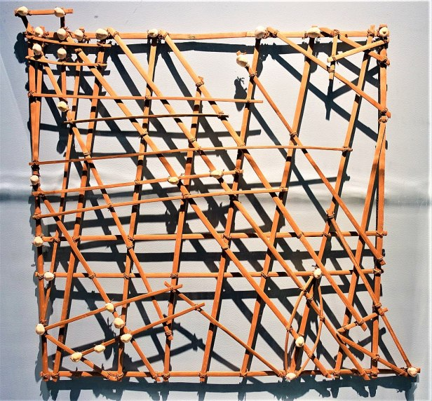 Stick Chart for Sea Navigation - www.joyofmuseums.com - American Museum of Natural History