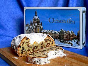 Stollen-Dresdner Christstollen