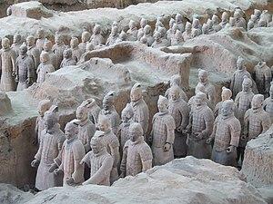 Terracotta Army of Emperor Qin Shi Huangdi nea...