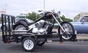Nice bike, nice trailer